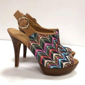 Nine West 6 Spring Dewo Heels Platform, Sandals